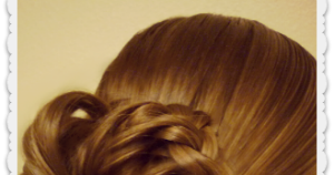 Bunches Of Braids Updo Hairstyle Tutorial Hairstyles For