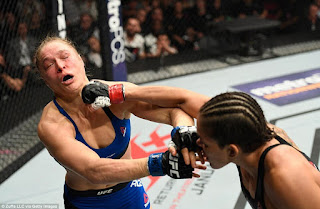 Ronda Rousey defeated in UFC