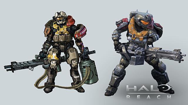 Halo Reach 2 Personnages - Fond d'écran en Full HD