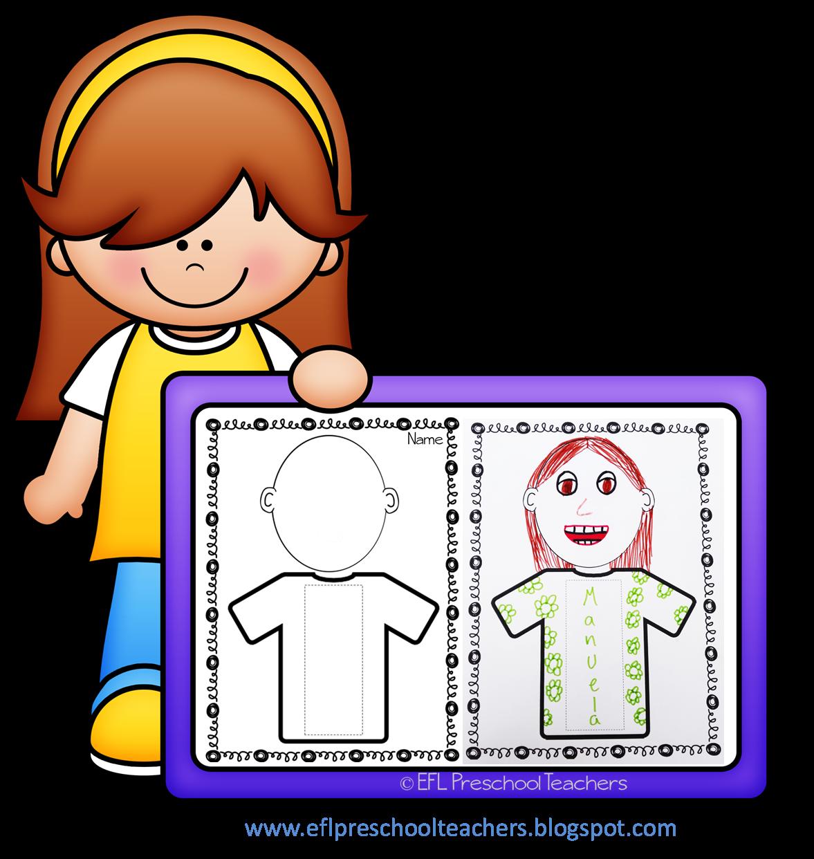 Esl Efl Preschool Teachers Name Worksheets For Preschool Ela