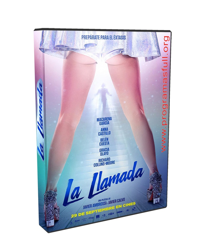 la llamada HD 1080p poster box cover