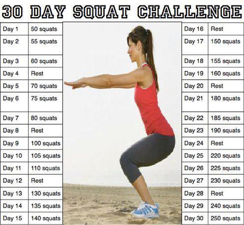Fitness Jams: 30 Day Squat and Ab Challenge