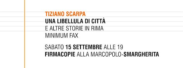 Tiziano Scarpa alla MarcoPolo-S.Margherita