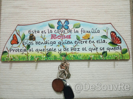 Tabla decorativa personalizada