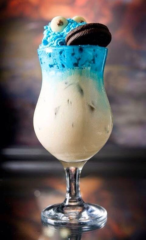cookie monster smoothie