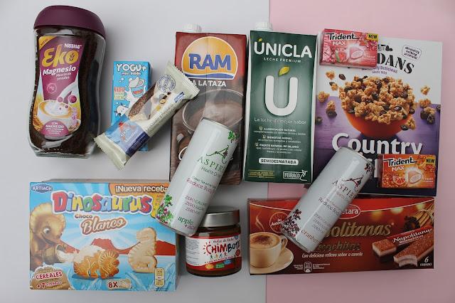 Caja degustabox especial desayuno