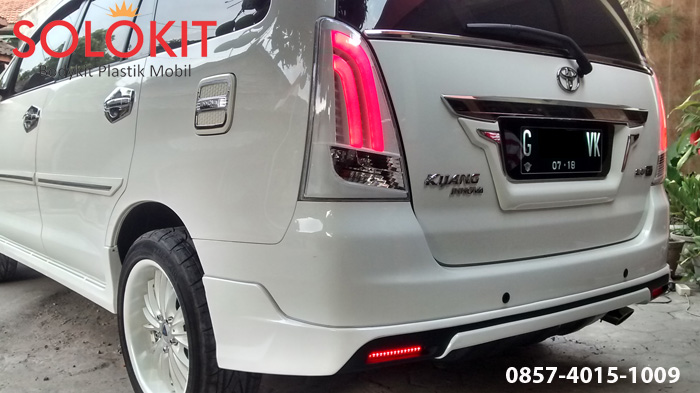 bodykit all new kijang innova camry 2016 luxury 2014 solo