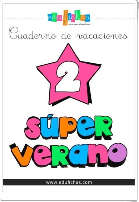 """""""Superverano 2"""" (Cuaderno de Vacaciones de Infantil)"""