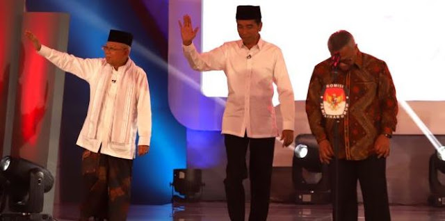 Format Debat Selanjutnya, KPU 'Paksa' Ma'ruf Amin Aktif Bicara