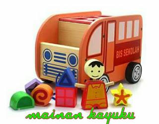Bus Sortasi - Mainan Edukatif   SeButik.com