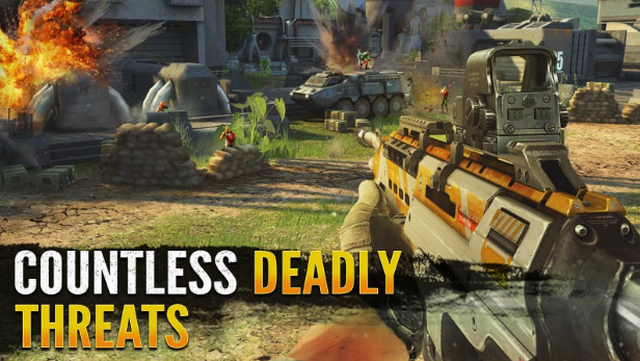 Best FPS Shooting Games for Android apk Free Download Sniper Fury