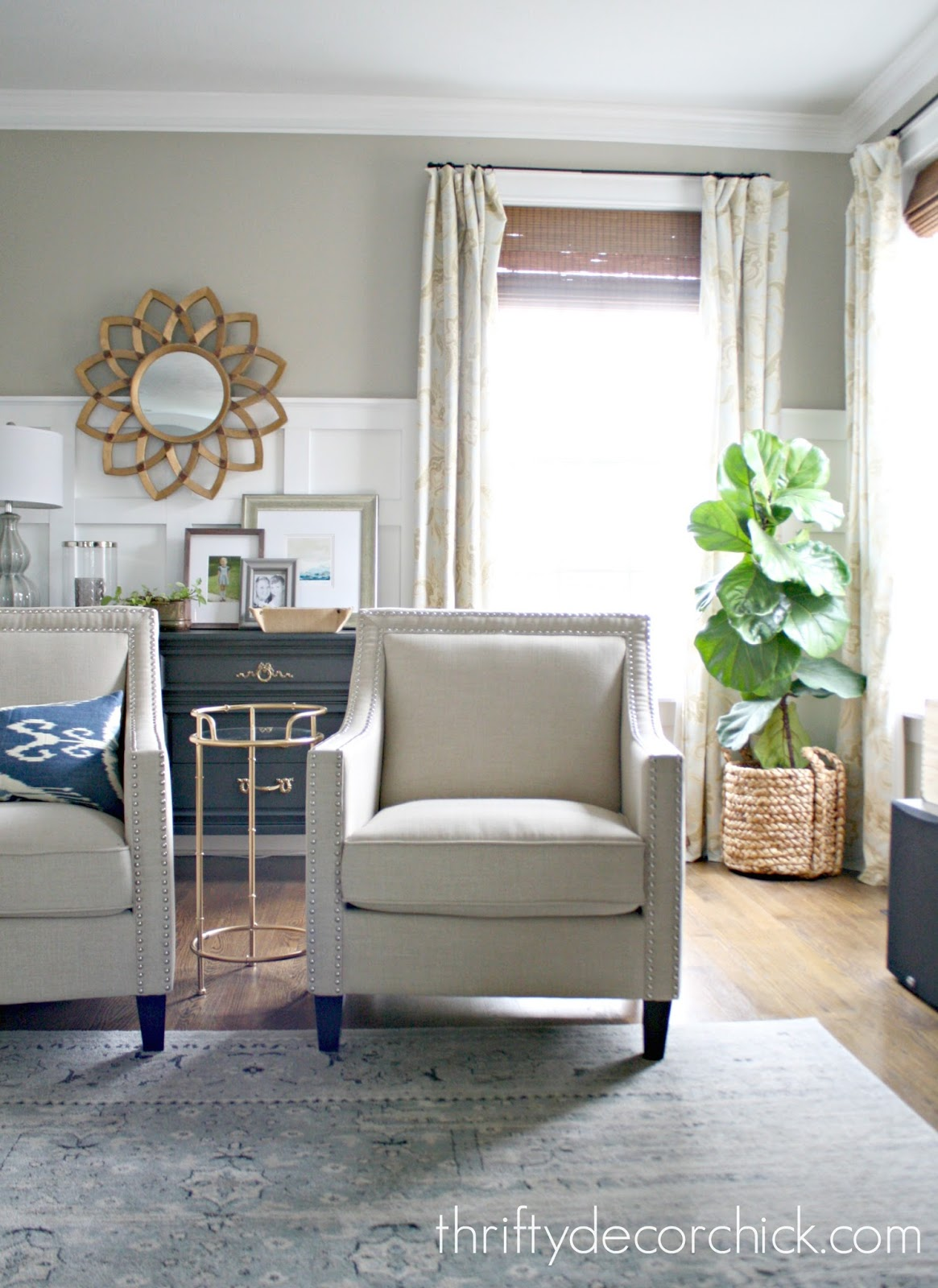 Affordable neutral arm chairs