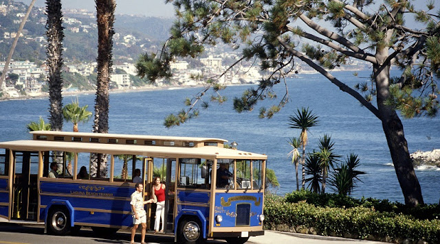 Passeio de Trolley por Laguna Beach