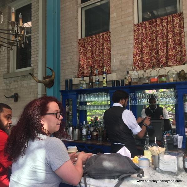 bar at Ocho restaurant at Hotel Havana in San Antonio, Texas