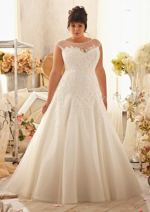 5849826b2 vestidos de novia 2017 gorditas