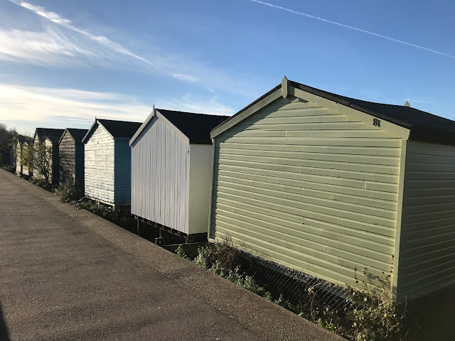 Beach huts, Whitstable, Kent