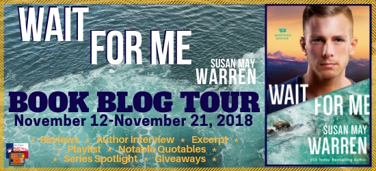 Wait for Me book blog tour promotion banner