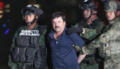 El chapo arrestado por el ejercito mexicano