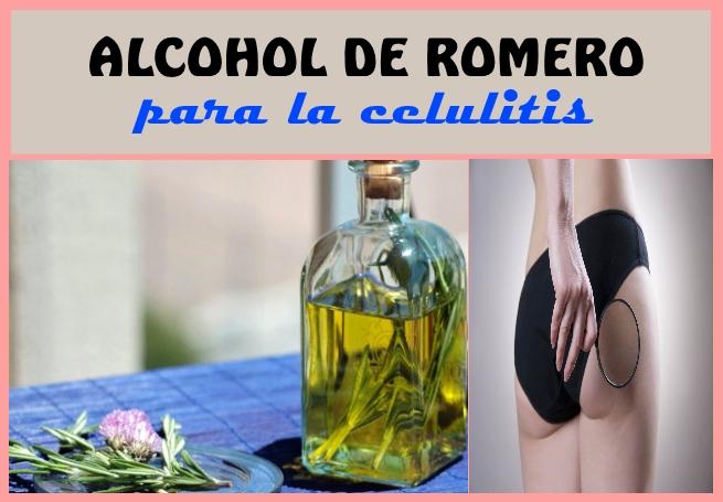 Para celulitis de hacer alcohol romero como