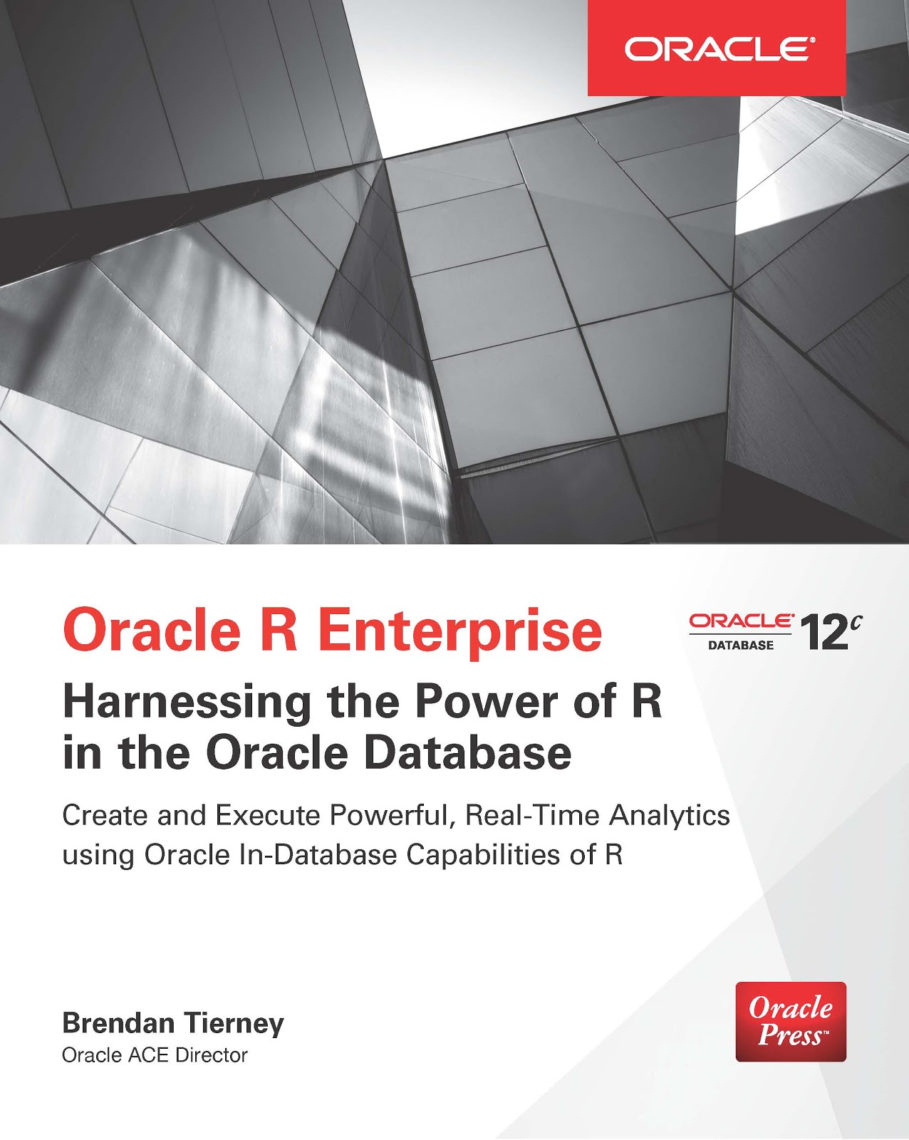 Buy my Oracle R Enterprise Book
