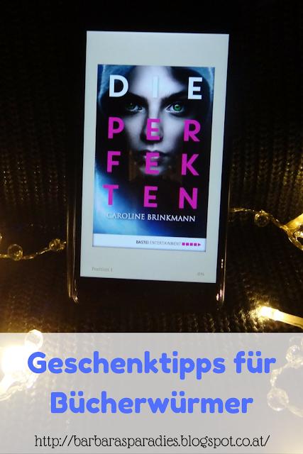 Geschenktipps für Bücherwürmer:  Die Perfekten von Caroline Brinkmann