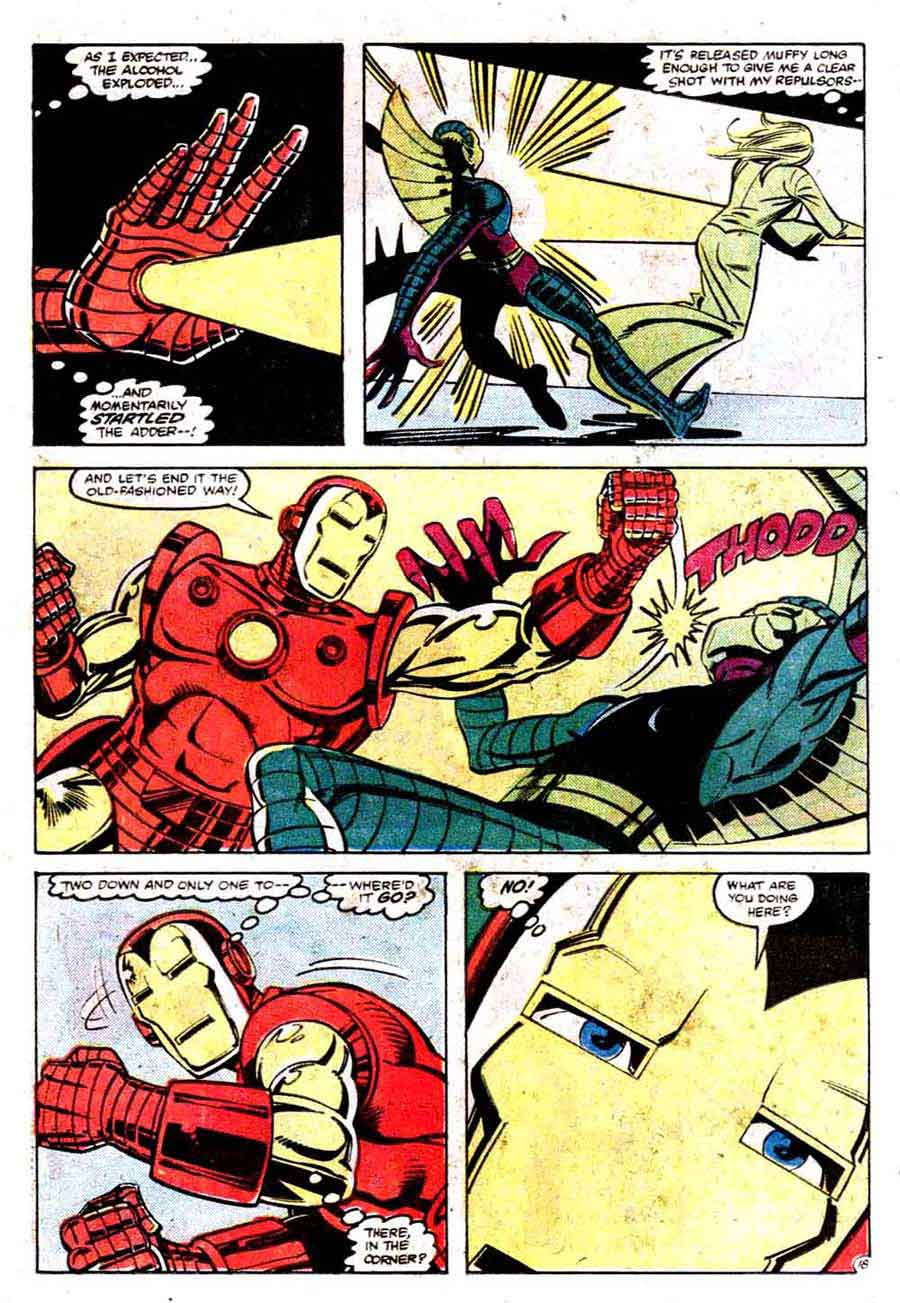 Iron Man v1 #160 marvel comic book page art by Steve Ditko