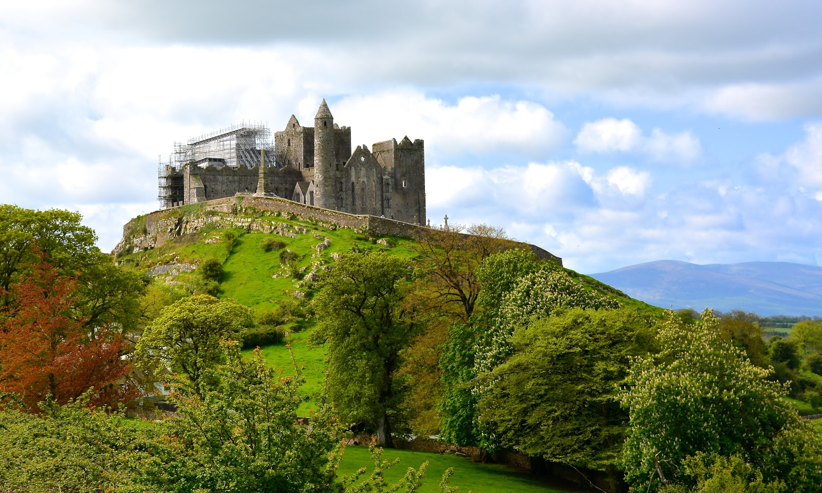 Rock of Cashel in County Tipperary, Ireland