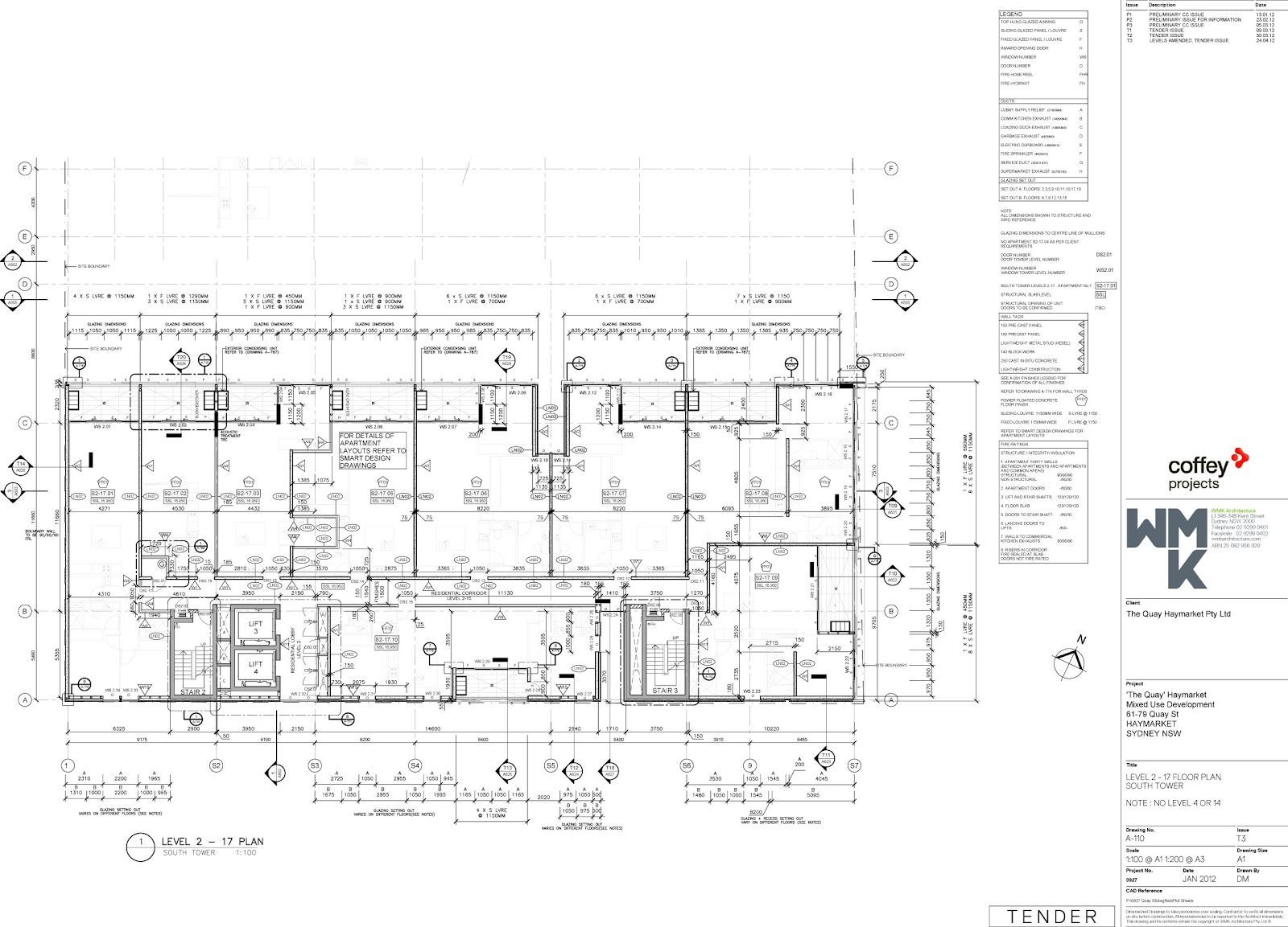 Portfolio Drawings And Images Wmk High Rise Residential