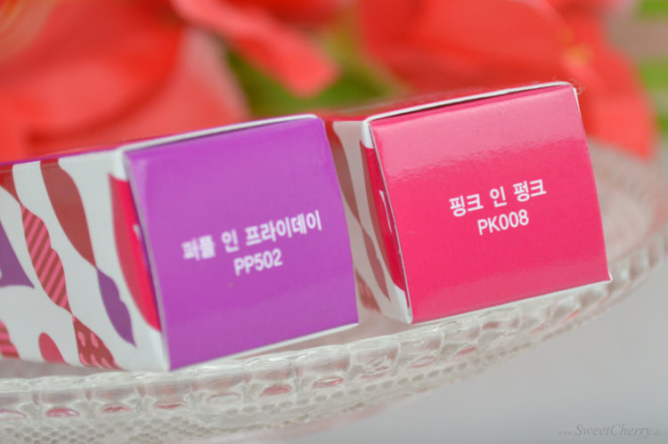 Sweet Little Things - Etude House Color In Liquid Lips