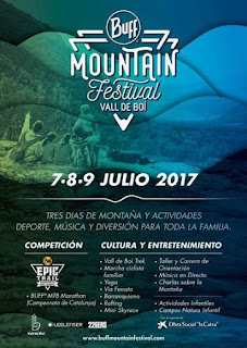 BUFF MOUNTAIN FESTIVAL VALL DE BOÍ 2017