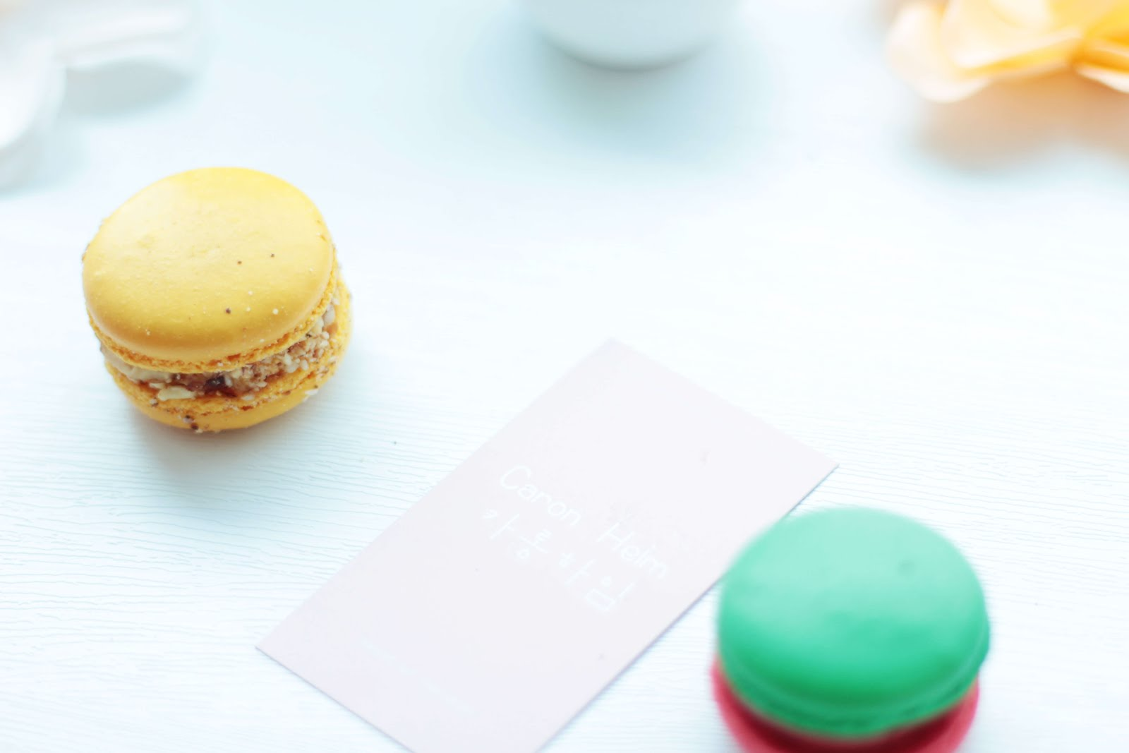 where buy macarons south korea