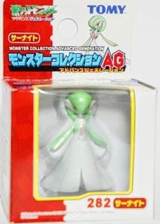 Gardevoir Pokemon figure Tomy Monster Collection AG series
