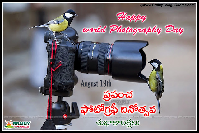 Happy Photography Day Quotes Quotes Words