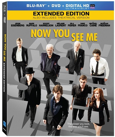 Poster Of Now You See Me 2013 Dual Audio 350MB BRRip 480p Free Download Watch Online