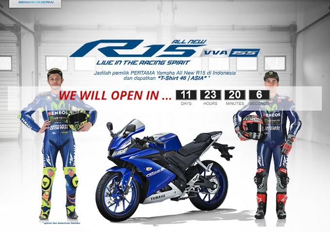 Inden Online Yamaha All New R15 V3 2017 Sebentar Lagi