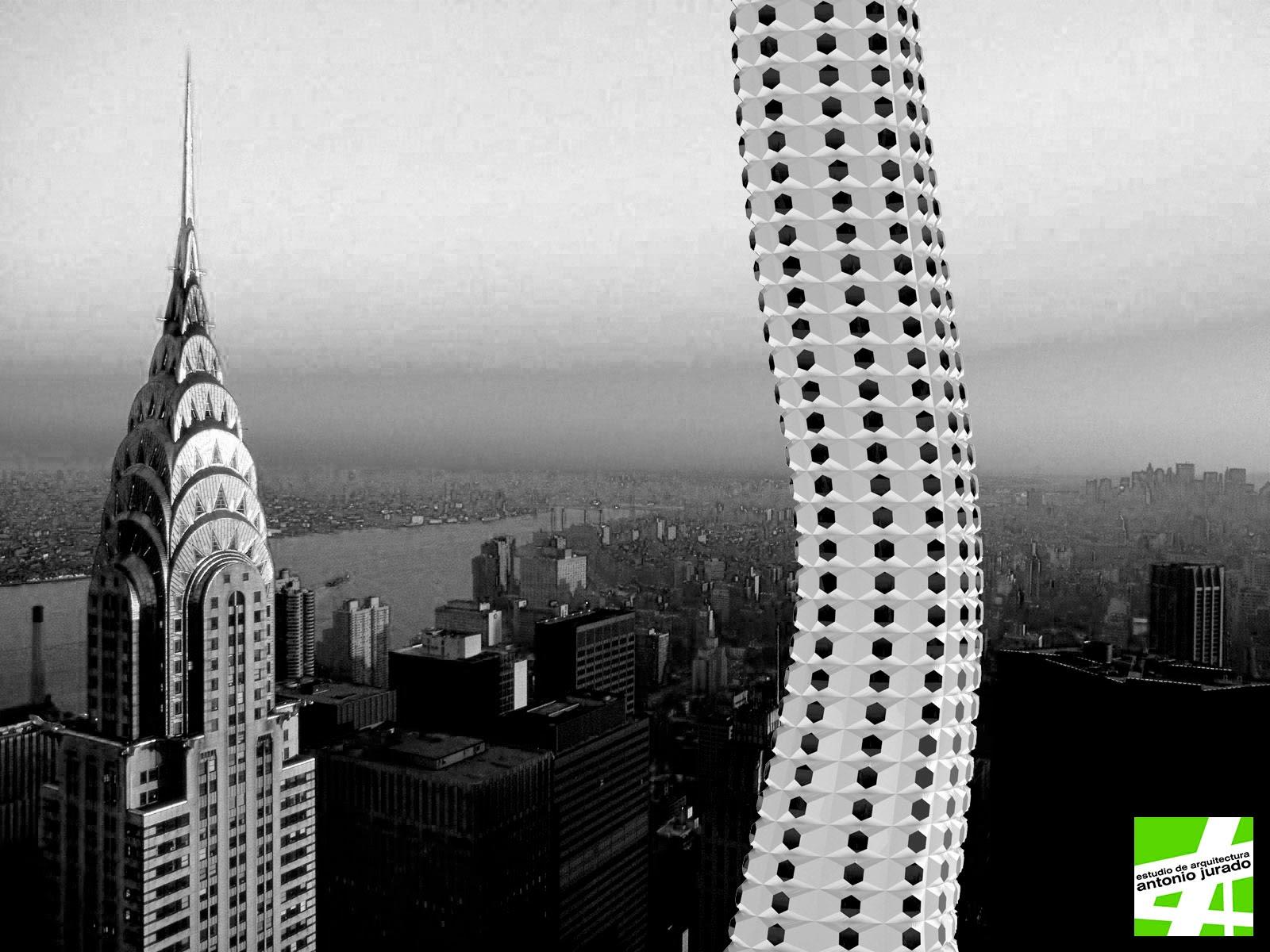 PARAMETRIC BOW TOWER ARCHITECT ANTONIO JURADO PARAMETRIC CAMP