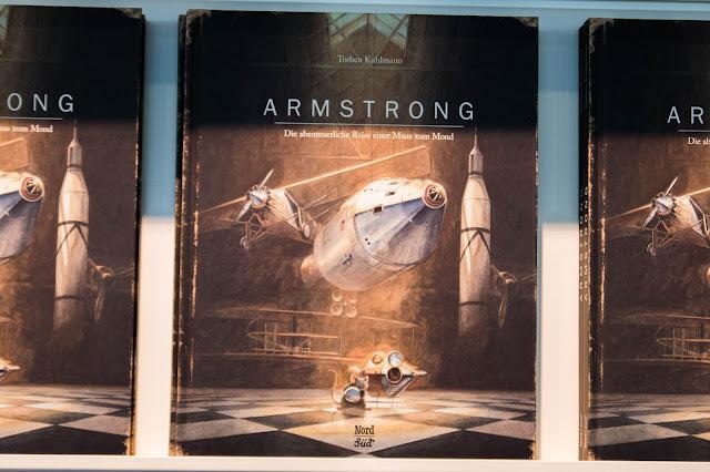 Messe Frankfurt, Buchmesse, 2016, fbm 2016, Torben Kuhlmann, Armstrong