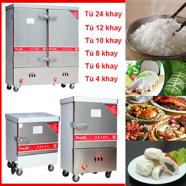 tủ nấu cơm công nghiệp - bếp 36