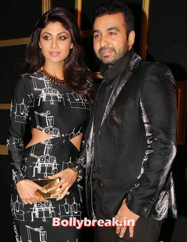 Shilpa Shetty and Raj Kundra, All Bollywood Celebs at Deepika Padukone Golden Party