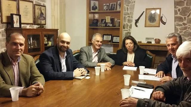 Επίσκεψη στην Αργολίδα του εκπρόσωπου του γραφείου συντονισμού της κυβέρνησης κ. Γιάννη Βουλγαράκη εν όψει του Περιφερειακού συνεδρίου