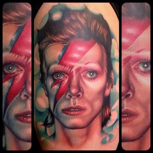 Best of david bowie 10 greatest hits tattoos noda luka for David bowie tattoos