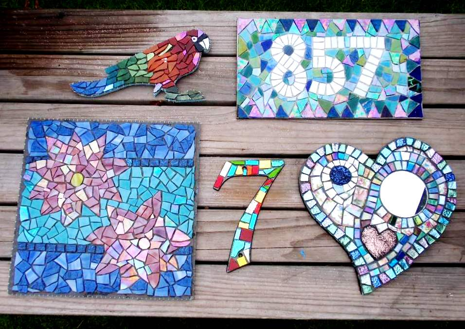 mosaic ideas ~ easy arts and crafts ideas