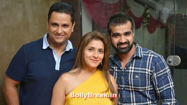 Puneet Rai, Vaishali Rai and Ankur Miglani, Hair and Makeup Studio 'ANGE', Launch Pics