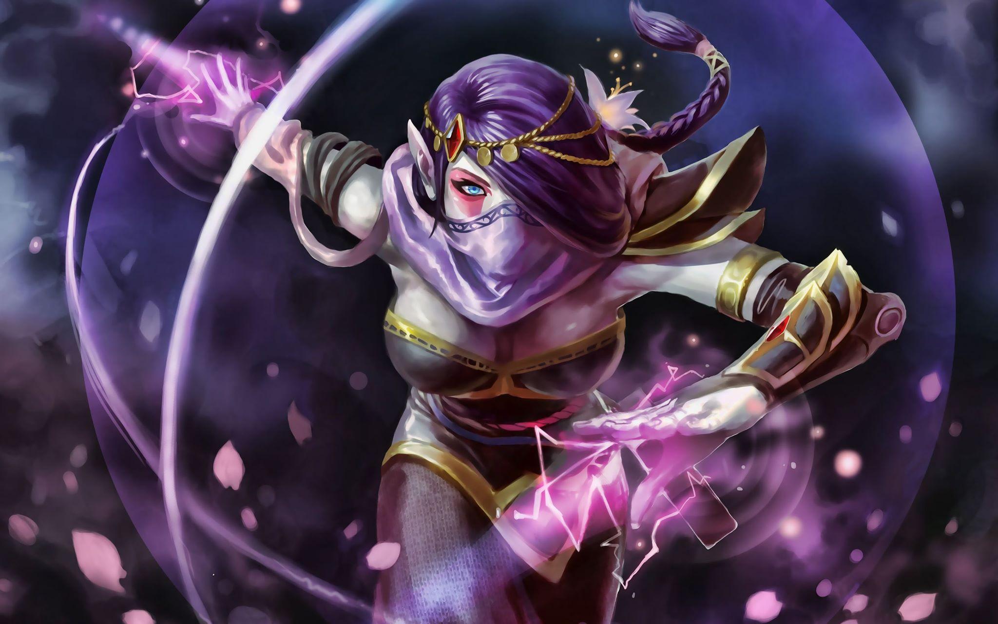 Top 10 Nữ Hero có nhan sắc đẹp nhất Dota 2 (phần 2) (Ảnh 9)