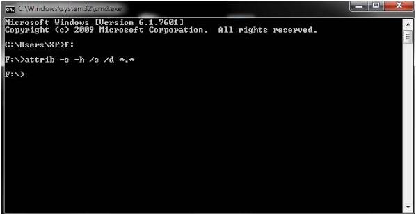 Cara memperbaiki folder dan file di flashdisk yang hilang