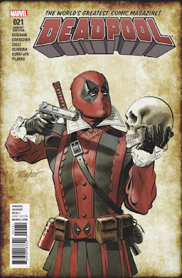 Deadpool Does Shakespeare #21 Marvel Comics News