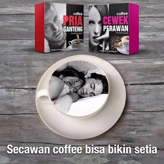 COFFEE CEWEK PERAWAN DAN PRIA GANTENG