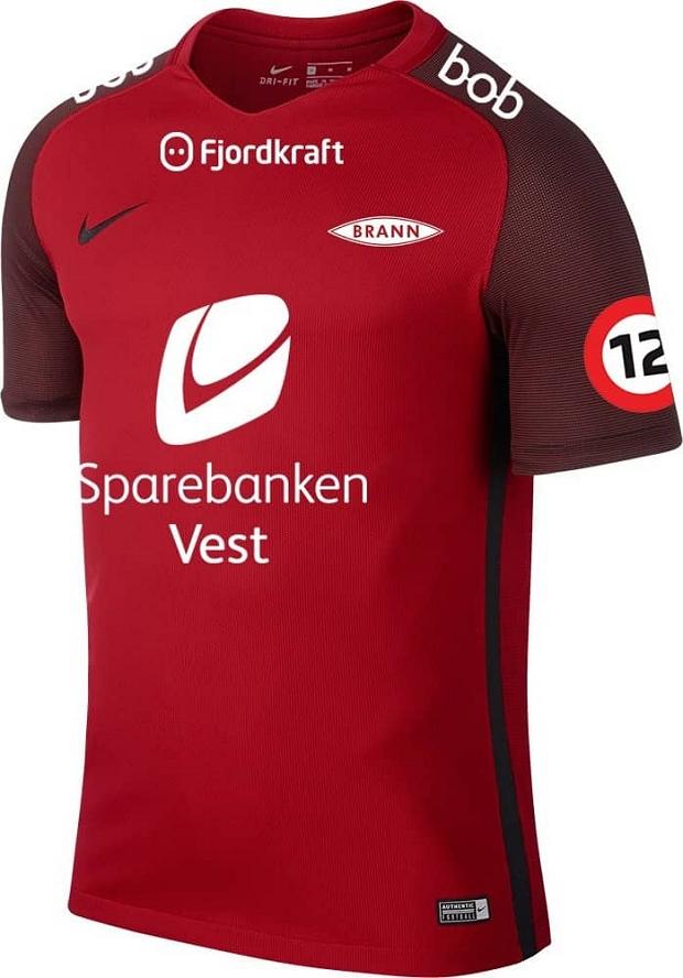Nike divulga as novas camisas do Brann - Show de Camisas a615ffff30b83