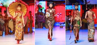 Gambar Kebaya Modern Anne Avantie 2015 Model Oriental Klasik