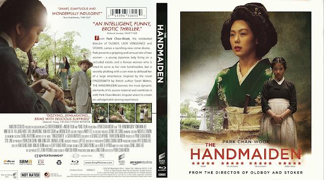 The Handmaiden (Ah-ga-ssi) Bluray Cover